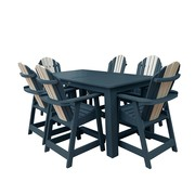 Patio 7 Piece Counter Dining Set on Sale